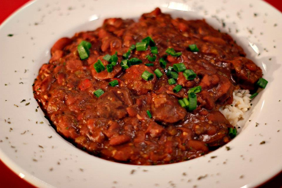 Red Beans and Rice – $9.95 | Free Man Dallas